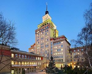 The former Hotel International  in Prague